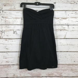 Volcom Black Strapless Dress.